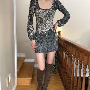 Paisley Print Dress/Tunic